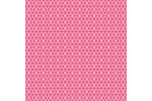 Pink linear geometric pattern