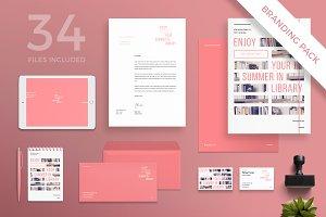 Branding Pack | Summer In Library