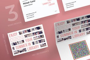 Business Cards | Summer In Library