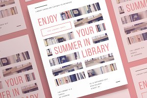 Posters | Summer In Library