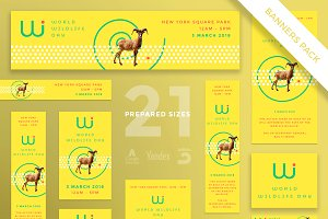 Banners Pack | World Wildlife Day