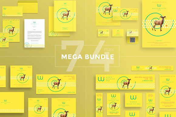 Mega Bundle World Wildlife Day