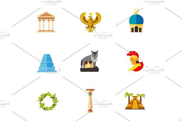 Civilization Icon Set