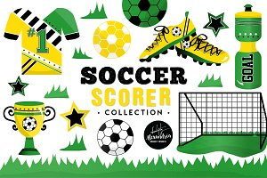 Soccer Scorer Graphics & Patterns