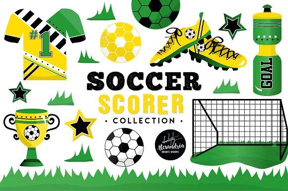 Soccer Scorer Graphics Patterns