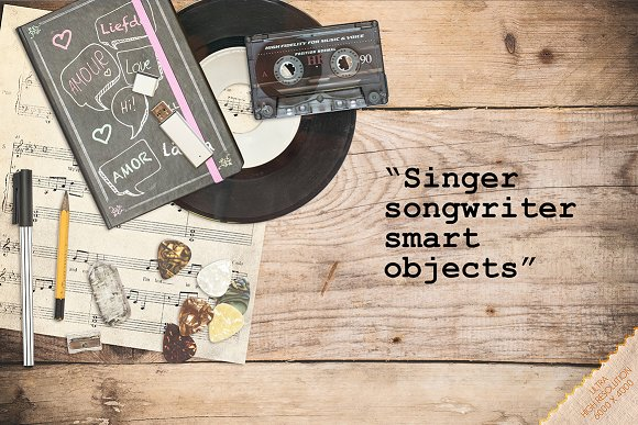Singer Songwriter Music SMARTobjects