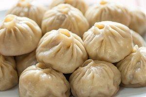 Buuza poza is a Buryat Mongolian national dish, paste packet