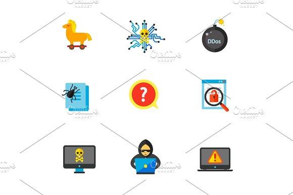 Hackers Icon Set