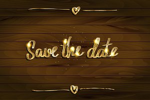 Save Our Date Invitation