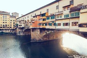 Ponte Vecchio and Arno River
