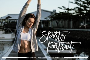 Sports Portrait Lightroom Preset