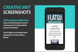 Creative Market Product Screenshots