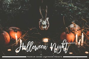 Halloween Night Lightroom Preset