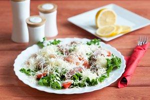 Caesar Salad with Omul