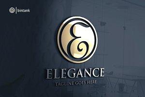 Elegance - Letter E Logo