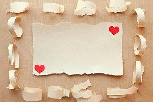 Love letter.Valentine's Day