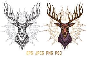 Totem Deer