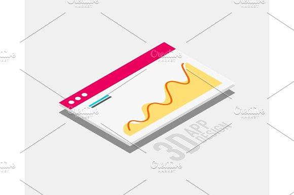 Isometric 3D User Interface Design