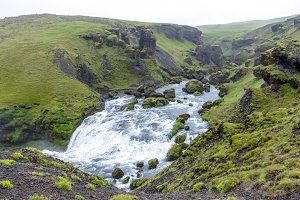 Skoga river. Iceland