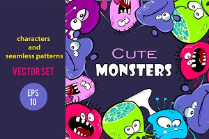 Color monsters big set