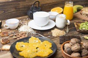 variety breakfast