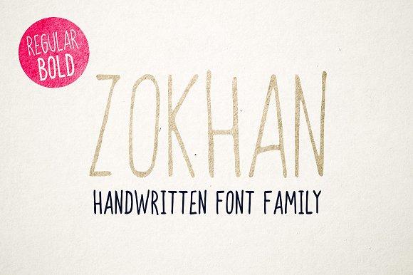 Zokhan Font Family
