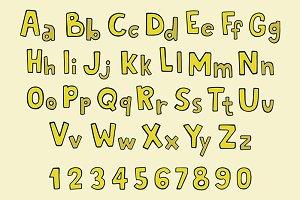 Sketch alphabet
