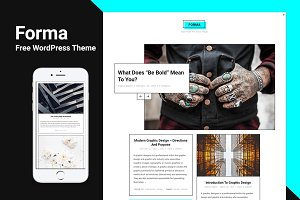 Forma Light  - WordPress Theme