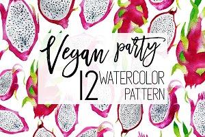 Summer basket! 12 patterns + 67 png