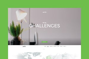 Ante - One Page WordPress Theme