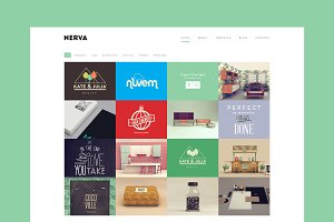 Nerva - Minimal WordPress Portfolio
