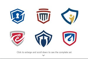 6 Security Logo Bundle