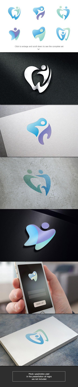 6 Dental Logo Bundle