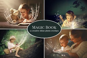 Magic Book photo overlays