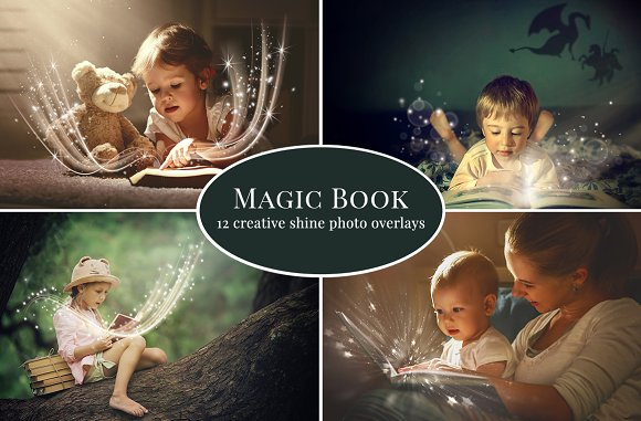 Magic Book Photo Overlays