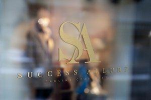 Letter SA - Logo Design