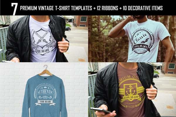 7 T-Shirts + 22 Free Items (50% Off…