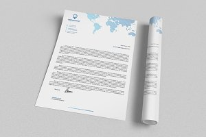 Corporate Letterhead 3 with MS Word