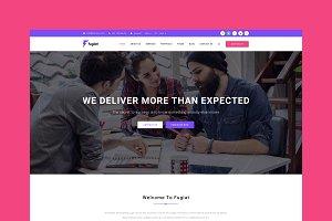 Fugiat - Material Design WP Theme