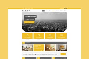 Alcatron - Business WordPress Theme