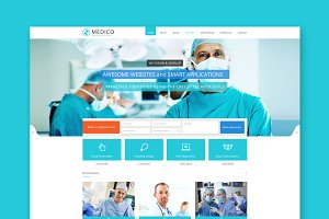 Medico - Medical WordPress Theme