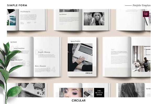 Brochure Templates Creative Market – Sample Pamphlet Templates