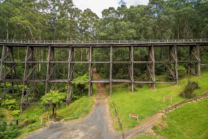 Noojee old trestle bridge