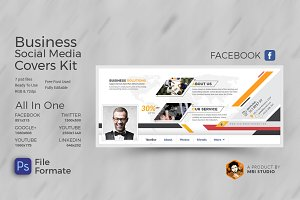 Business Social Media Cover kit