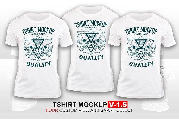 Tshirt Mockup Vol-1.5