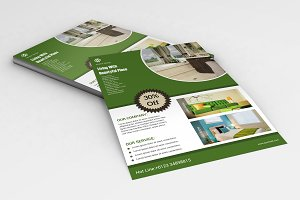 Interior Flyer Template-V577