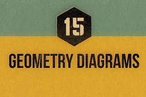 Vintage Geometry Diagrams