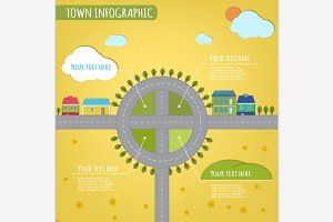 Small Town Infographics