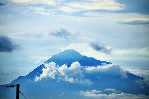 The sky above Marapi