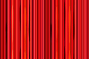 Bright red curtain seamless pattern